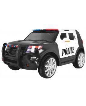 Elektrické autíčko SUV policajné auto